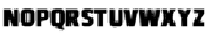 VTCBadVision Regular Font LOWERCASE