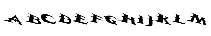 VTCBelialsBladeTricked Font LOWERCASE