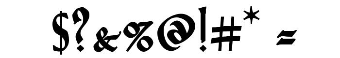 VTCGoblinHandBold Font OTHER CHARS
