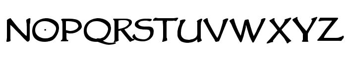 VTCGoblinHandBold Font UPPERCASE