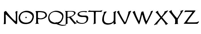 VTCGoblinHandSC Font UPPERCASE