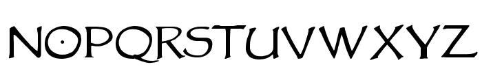 VTCGoblinHand Font LOWERCASE