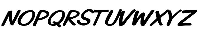 VTCKomixationCapsItalic Font LOWERCASE