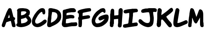 VTCKomixationHandBold Font LOWERCASE