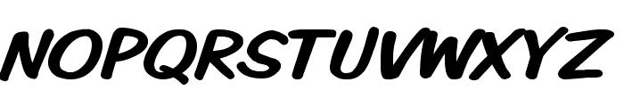 VTCKomixationSC Font UPPERCASE