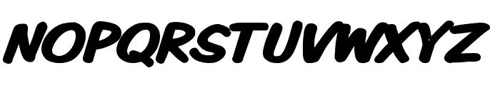 VTCKomixationSCBold Font UPPERCASE