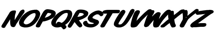 VTCKomixationSCBoldItalic Font UPPERCASE