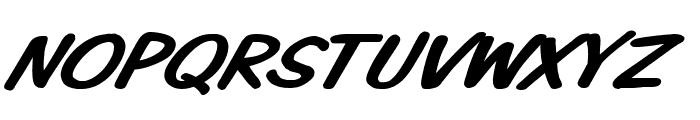 VTCKomixationSCItalic Font UPPERCASE