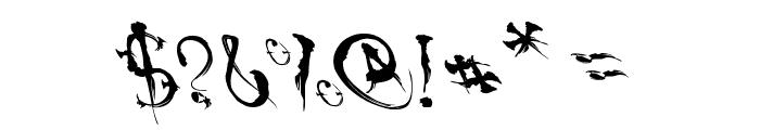 VTCSumiSlasherOnePunchDrunk Font OTHER CHARS
