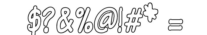 VTCSundayKomixTallOutline Font OTHER CHARS