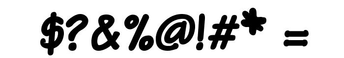 VTCSundaykomixBold Font OTHER CHARS