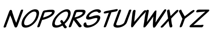 VTCSundaykomixItalic Font UPPERCASE