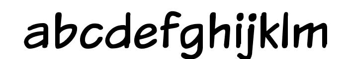 VTCSundaykomix Font LOWERCASE