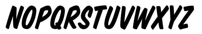 VTCSuperMarketSaleItalic Font UPPERCASE