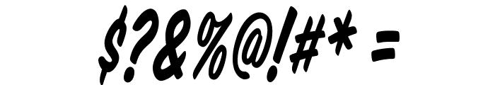 VTCSuperMarketSaleTallTilt Font OTHER CHARS