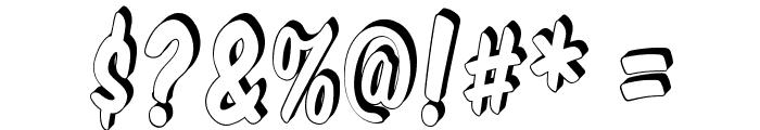 VTCSuperMarketSuperSale3D Font OTHER CHARS