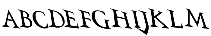 VTCSwitchbladeRomanceDrunk Font UPPERCASE