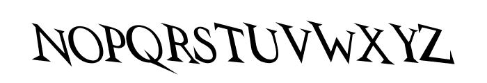 VTCSwitchbladeRomanceDrunk Font LOWERCASE