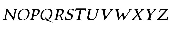 VTCSwitchbladeRomanceItalic Font UPPERCASE