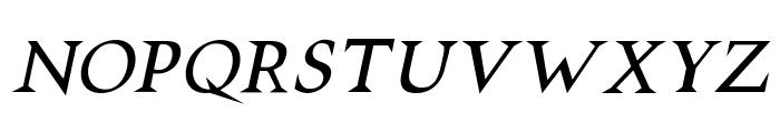 VTCSwitchbladeRomanceItalic Font LOWERCASE