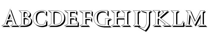 VTCSwitchbladeRomanceShadowed Font UPPERCASE