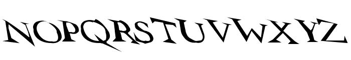 VTCSwitchbladeRomanceSloppyDrunk Font LOWERCASE