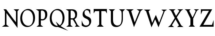 VTCSwitchbladeRomanceTall Font LOWERCASE