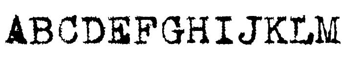 VTCorona Font UPPERCASE