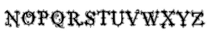 VTKS Black Label Normal Filete Font UPPERCASE
