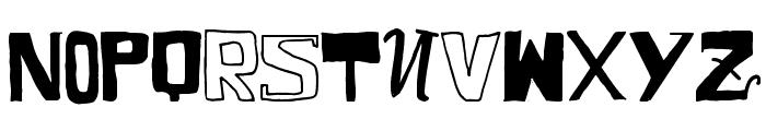 VTKS COMIC Font UPPERCASE