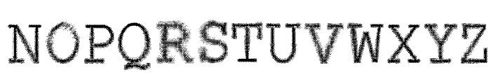 VTKS CONTACT Font UPPERCASE