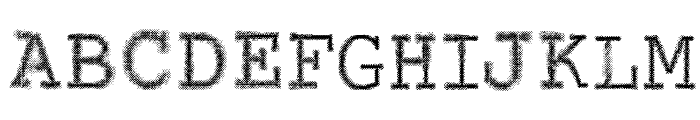 VTKS CONTACT Font LOWERCASE