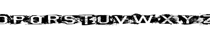 VTKS CURVE Font UPPERCASE