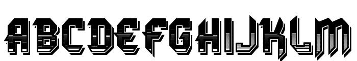 VTKS DURA 3D Font LOWERCASE