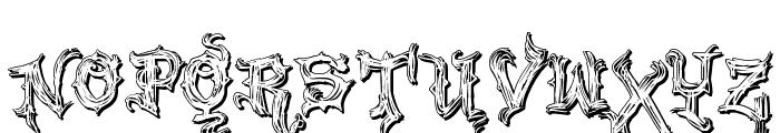 VTKS Good Vibration 2 Font UPPERCASE
