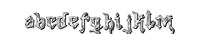 VTKS Good Vibration 2 Font LOWERCASE