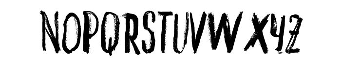 VTKS INKED Font UPPERCASE