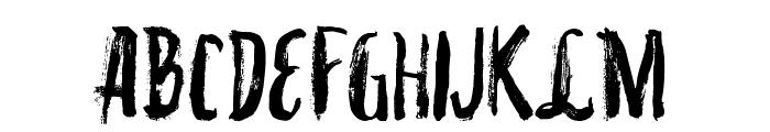 VTKS INKED Font LOWERCASE