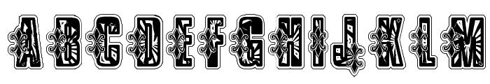 VTKS Low Rider Box Font UPPERCASE