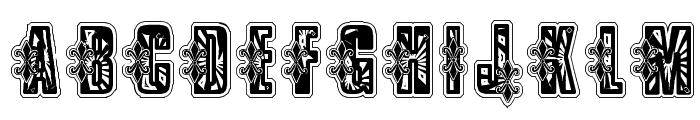 VTKS Low Rider Box Font LOWERCASE