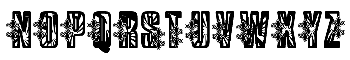 VTKS Low Rider Font UPPERCASE