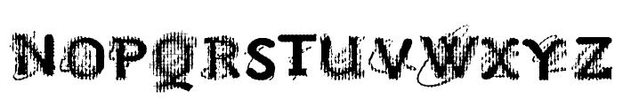 VTKS NO SIGNAL Font UPPERCASE