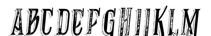 VTKS RECOVER MB 1 Font LOWERCASE