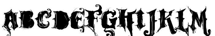 VTKS ROCK GARAGE BAND Font LOWERCASE