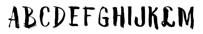 VTKS ROKIYOSAN Font UPPERCASE