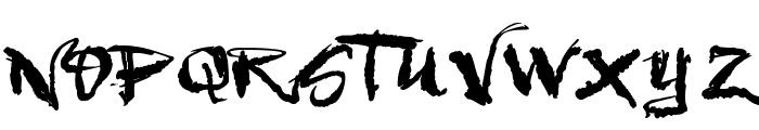 VTKS Urbanizart Font UPPERCASE