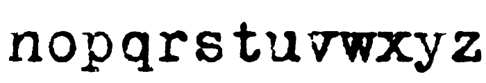 VTPortableRemington Font LOWERCASE