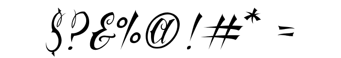 Vtc-NueTattooScript Font OTHER CHARS