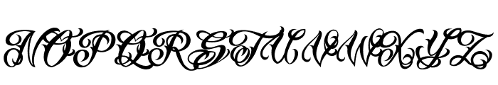 Vtc-TattooScriptTwo Font UPPERCASE