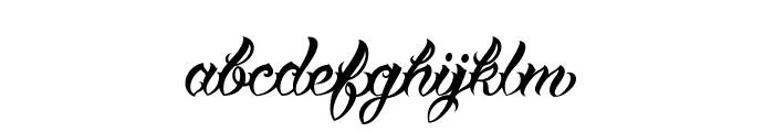 Vtc-TattooScriptTwo Font LOWERCASE